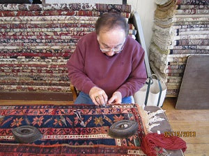 Repair of Oriental Rugs
